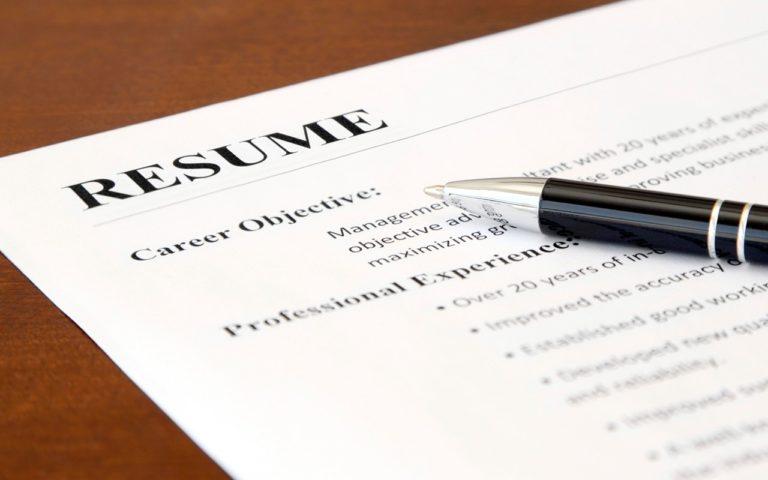 résumé expériences professionnelles, CV de consultant