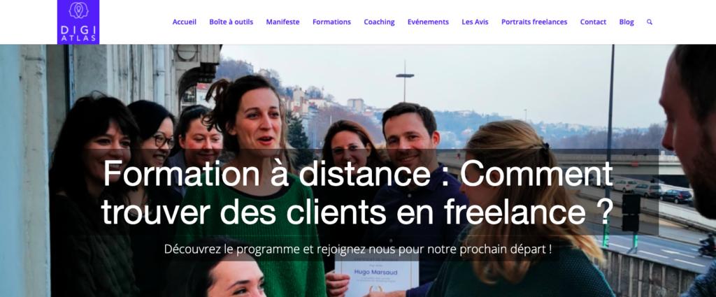 formations freelances pour trouver des clients Digi Atlas
